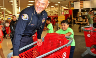 Twenty Local Kids 'Shop With A Cop' for School Essentials, Courtesy of Pasadena Rotary